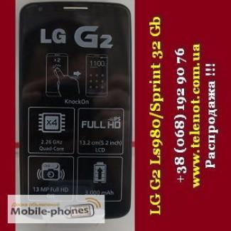 Распродажа New черный запакован Lg G2 Ls980 32 Гб