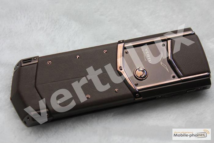 Фото 3. Vertu Signature S Design Pure Chocolate, Vertu, реплика Vertu, Копии Vertu