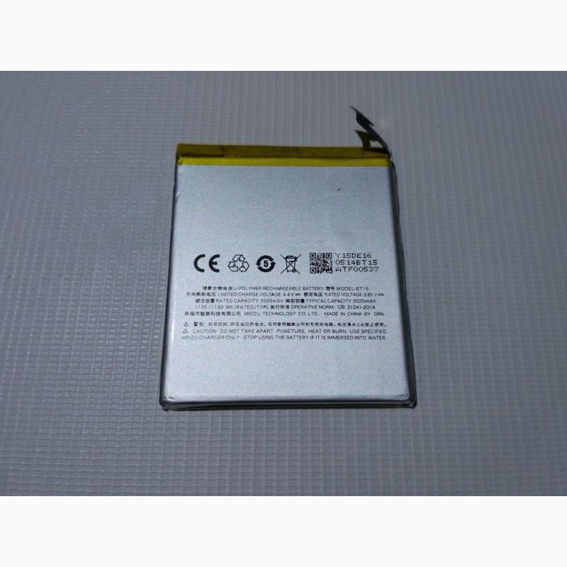 Фото 6. Чехол книжка, АКБ батарея, защитное стекло к смартфону Meizu