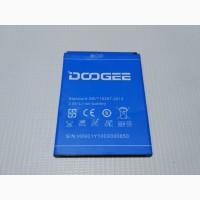 Чехол книжка, оригинальный аккумулятор, защитное стекло к смартфону Doogee