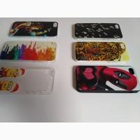 Чехол Бампер на iPhone 5 Тигр, Девочка, Миньоны