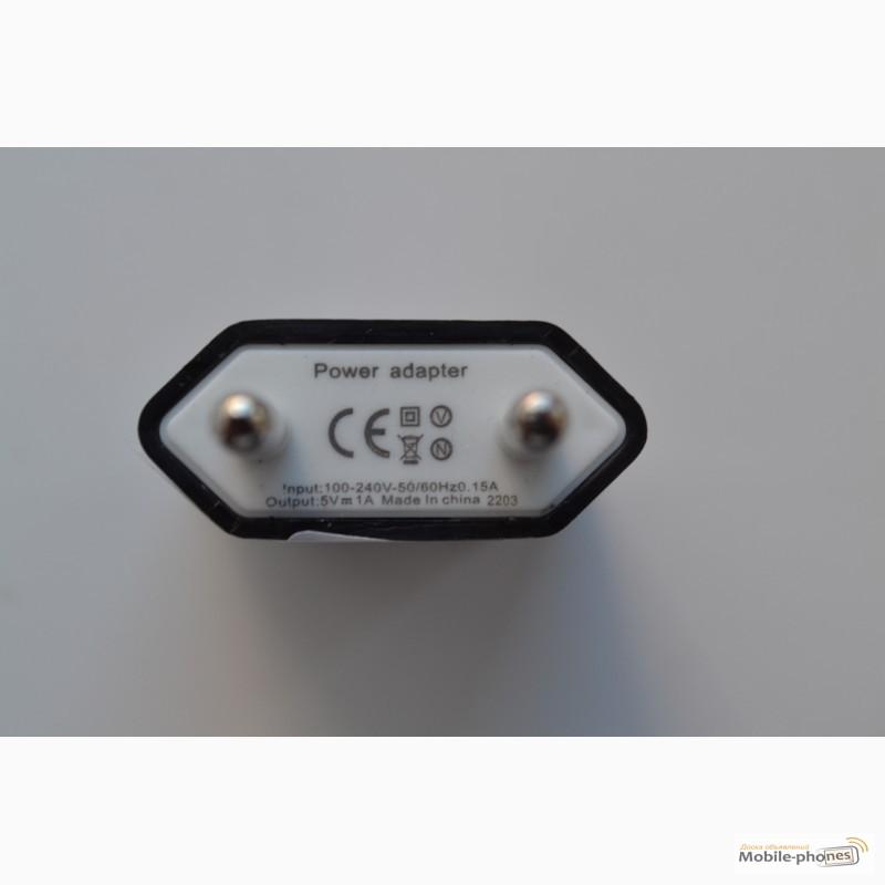 Фото 5. Зарядное устройство, адаптер питания + USB шнур