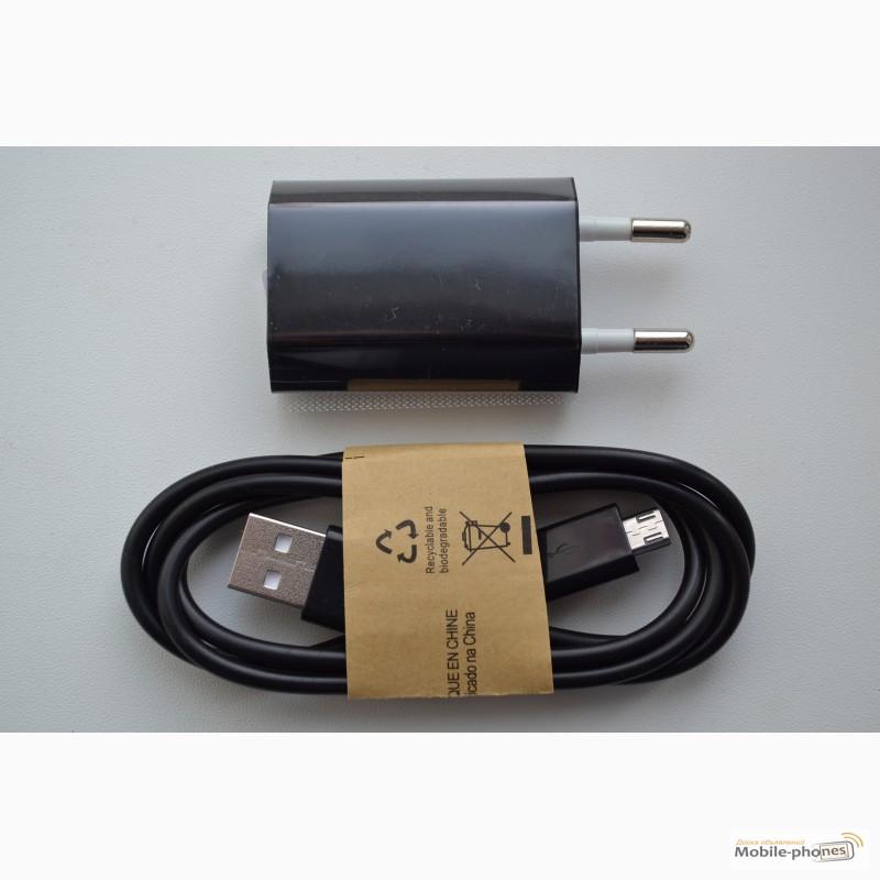 Фото 2. Зарядное устройство, адаптер питания + USB шнур