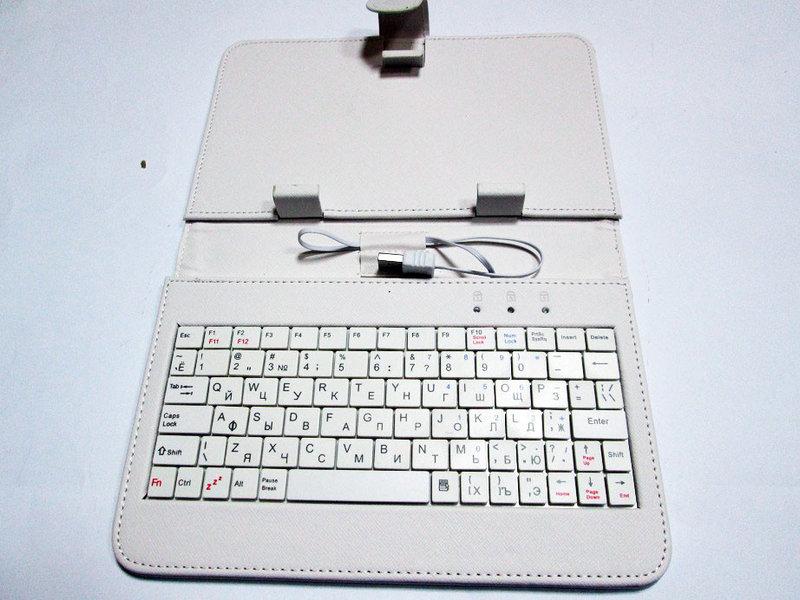 Фото 5. Чехол-клавиатура USB 7 Белый