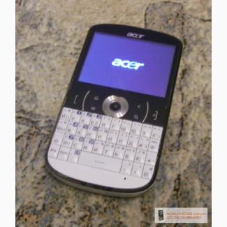 ACER E130, сенсор, андроид, полная клавиатура.
