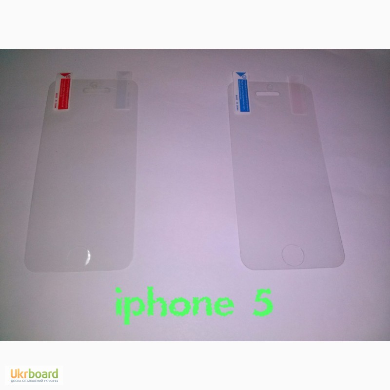 Фото 3. Защитные пленки на iPhone 4, iPhone 5