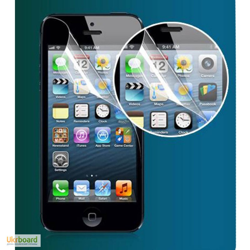 Фото 8. Защитные пленки на iPhone 4, iPhone 5