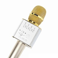 Микрофон Q9 портативный караоке с динамиком + Чехол