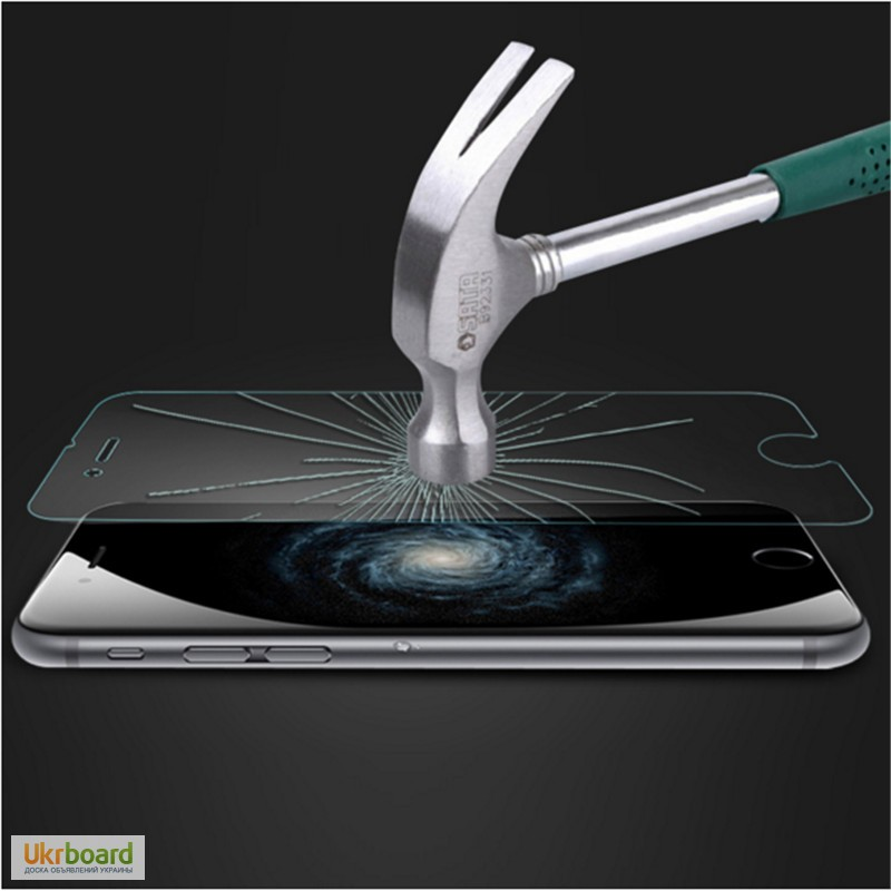 Фото 5. Закалённое стекло на iphone 6+ПЛЮС