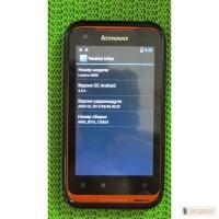 Водо- и пыленепроницаемый мобильный телефон Lenovo A660