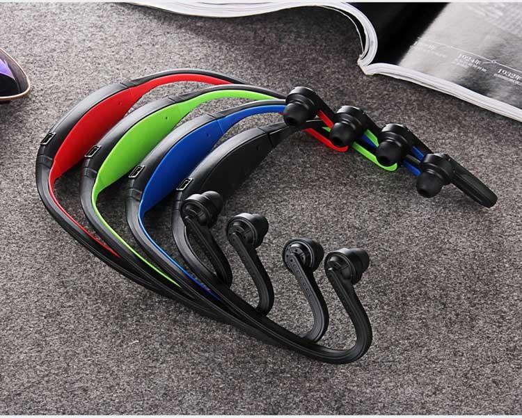 Фото 11. Epik S9 Спортивные Bluetooth Наушники водонепроницаемые беспроводные блютуз гарнитура