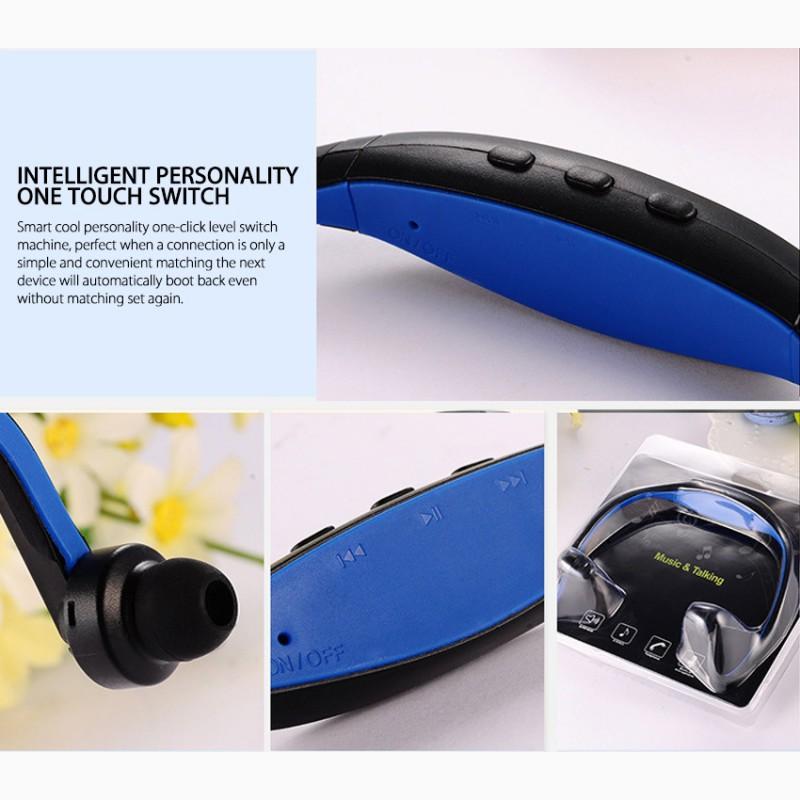 Фото 2. Epik S9 Спортивные Bluetooth Наушники водонепроницаемые беспроводные блютуз гарнитура