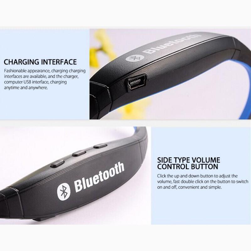 Фото 3. Epik S9 Спортивные Bluetooth Наушники водонепроницаемые беспроводные блютуз гарнитура