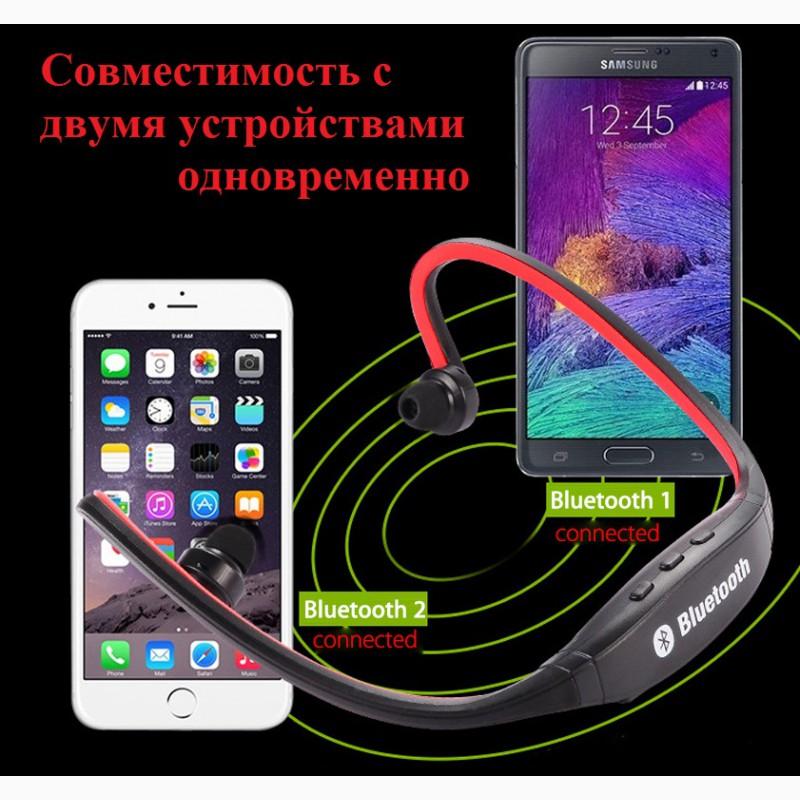 Фото 4. Epik S9 Спортивные Bluetooth Наушники водонепроницаемые беспроводные блютуз гарнитура