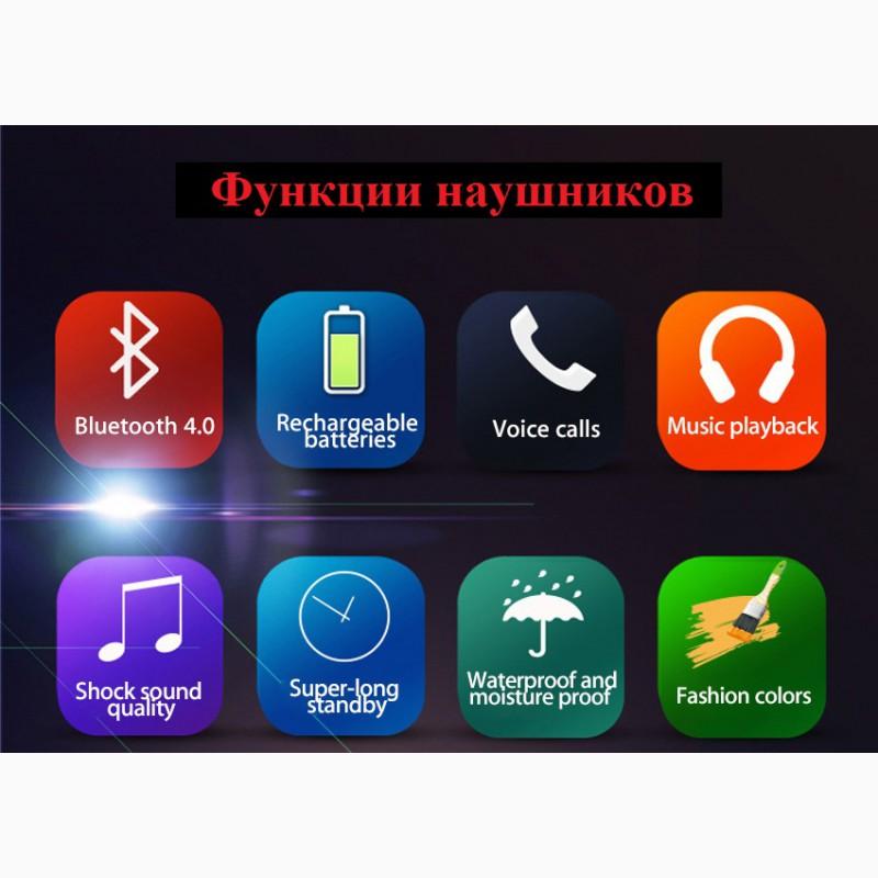 Фото 8. Epik S9 Спортивные Bluetooth Наушники водонепроницаемые беспроводные блютуз гарнитура