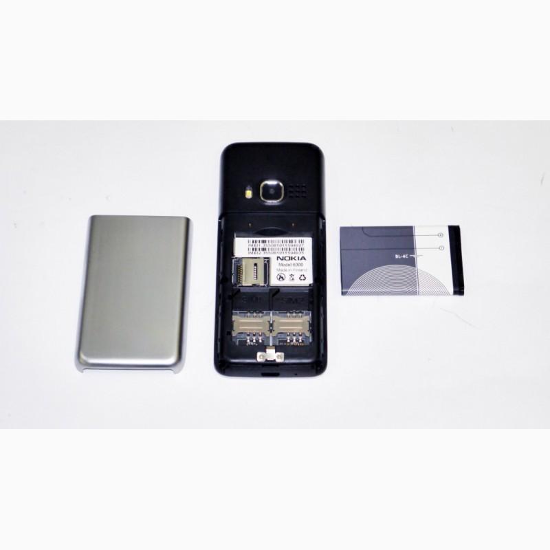 Фото 3. Мобильный телефон Nokia 6300 - 2 SIM, FM, MP3 Метал.корпус
