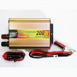 Преобразователь (инвертор) UKC 200W 12V-220V