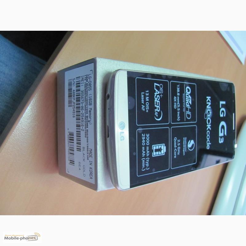 Фото 7. LG G3 D855 Gold 16Gb