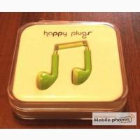 Наушники гарнитура проводная Happy Plugs Headphones In-Ear новая