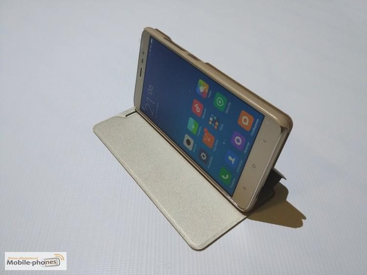 Фото 5. Xiaomi Redmi Note 3 оригинальный чехол книжка