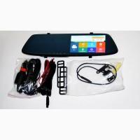 DVR L1001С Full HD Зеркало с видео регистратором с камерой заднего вида