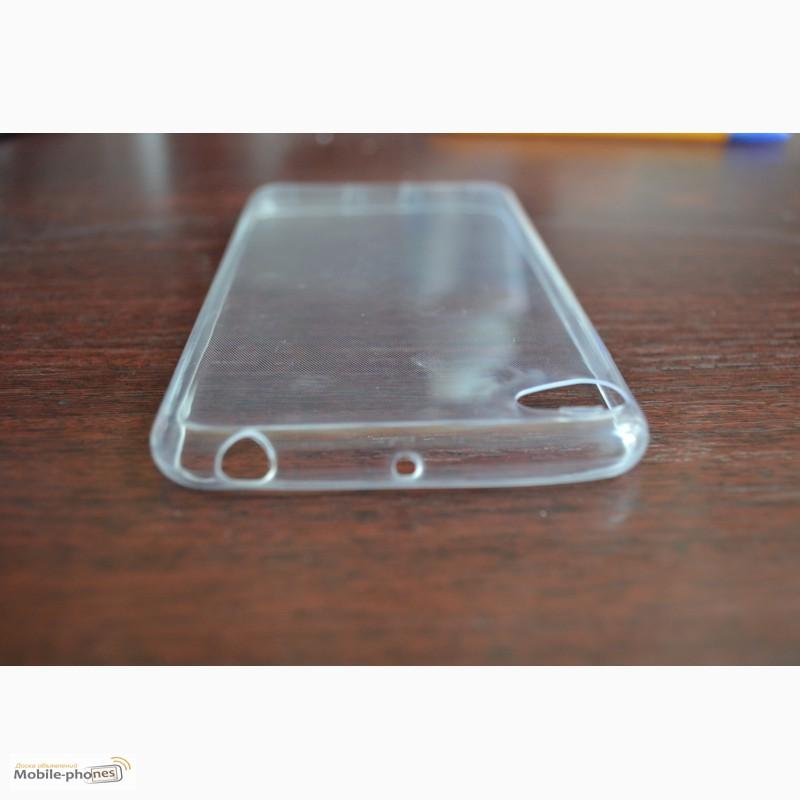 Фото 3. Мягкий прозрачный чехол для смартфона Lenovo S60T
