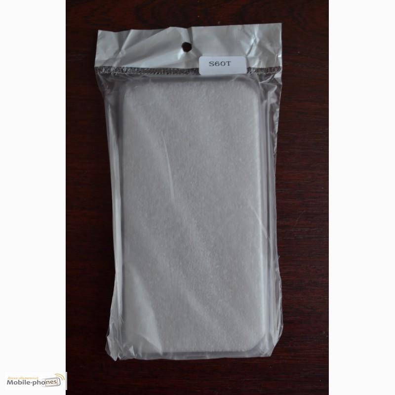 Фото 7. Мягкий прозрачный чехол для смартфона Lenovo S60T