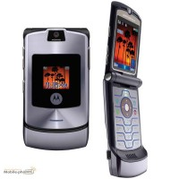 Motorola Razr V3 Silver Телефон б/в