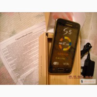 Samsung GALAXY S5 на 2 SIM-карты micro USB, Wi-Fi, Bluetooth 2.0