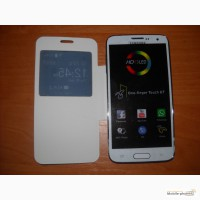 Samsung S5 4, 7 black white (2 sim, tv, java, wi-fi