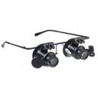 Увеличительные очки для мастеров, ювелиров и часовщиков, Питание каждой подсветки
