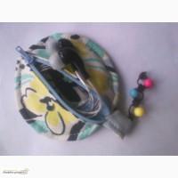 Чехол для наушников (компьютерных, для плеера, телефона или фм-радио)