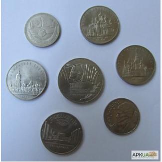 Монеты золотые, серебренные, платиновые