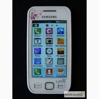 Красивый смартфон (мобильный телефон) Samsung Wave 525 GT-S5250