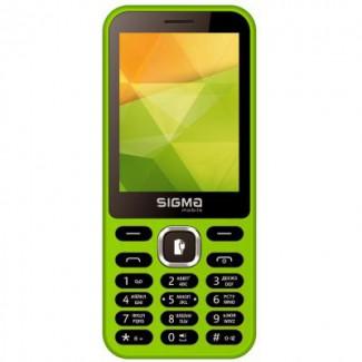 Sigma X-style 32 Boombox red, black кнопочный мобильный телефон