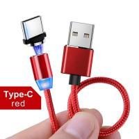 Micro-USB кабель быстрая зарядка, магнитный с светодиодной подсветкой