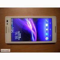 Cмартфон SONY XPERIA C2305 білий чохли захисний екран плівка