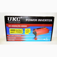 UKC 12V-220V 4000W Преобразователь авто инвертор с функцией плавного пуска