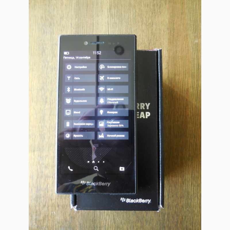 Фото 3. Смартфон BlackBerry Z20 Leap Shadow Grey (тёмно-серый)