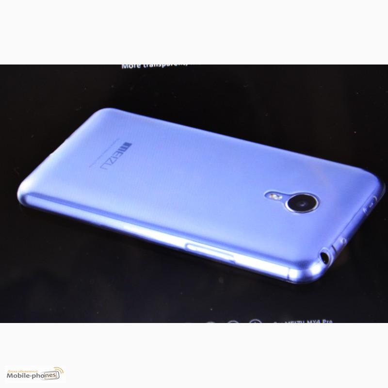 Фото 4. Cиликоновый чехол/бампер для Meizu MX5