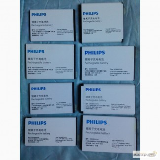 Philips АКБ на S308 S307 S309 E560 E180 S398 S308 X1500 X5500