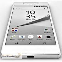 Sony Хperia Z5, эк. 5.0«, 2 яд, WiFi, 2 sim, And 5.1, кам 8МР, цвет Белый