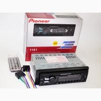 Автомагнитола Pioneer 1181 сьемная панель USB, SD, AUX