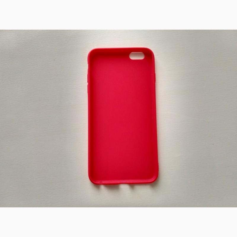 Фото 2. Чехол Бампер iphone 6 plus Красный