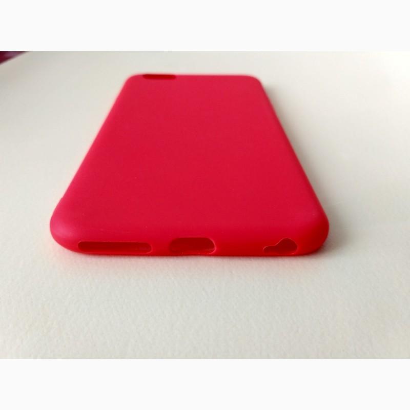 Фото 4. Чехол Бампер iphone 6 plus Красный