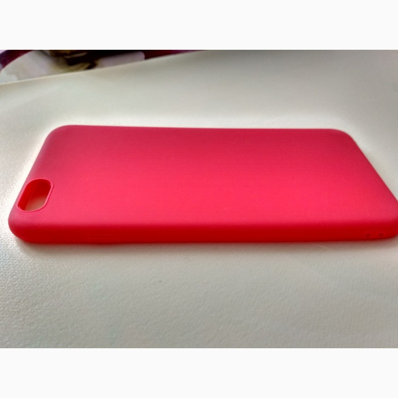 Фото 6. Чехол Бампер iphone 6 plus Красный