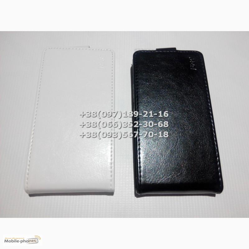 Флип чехол для iPhone 6 (цвет черный, белый)