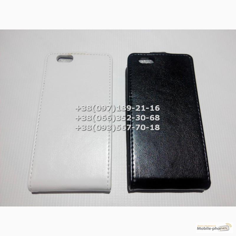 Фото 2. Флип чехол для iPhone 6 (цвет черный, белый)