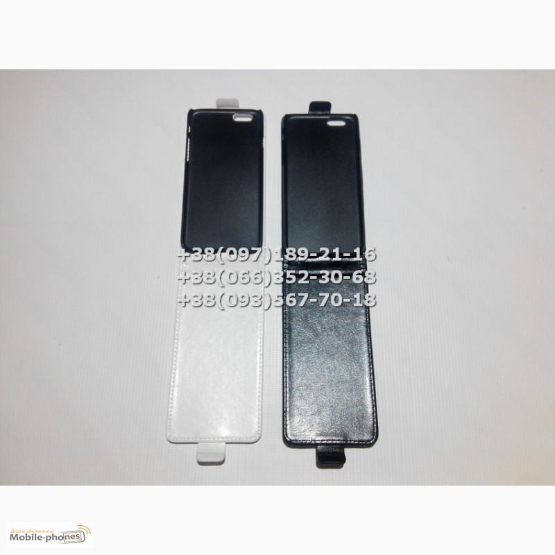 Фото 3. Флип чехол для iPhone 6 (цвет черный, белый)