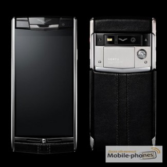 Vertu Signature Touch Black Leather, Verty, верту, копии vertu, копии телефонов vertu